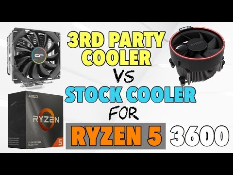 AMD Ryzen 5 3600 Stock Cooler vs After Market Cooler Test - Should You Upgrade? w/Benchmarks