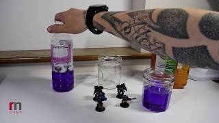 How to strip paint from your gaming miniatures.