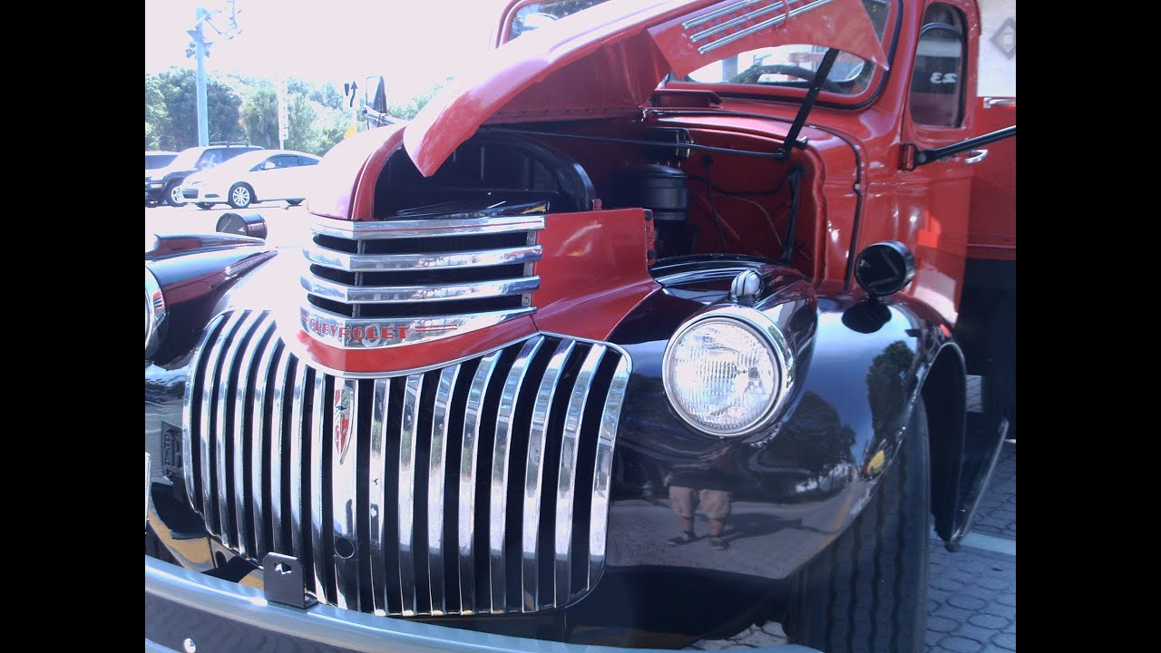 1941 Chevrolet Truck1941 Pickup 198402 Cadillac Wiring Harness 1946 Chevy Heavy Duty Truck Redblk Nsmyrn051212 Youtube