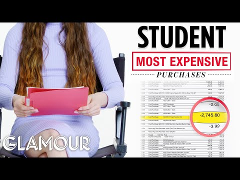 How This College Student Spends Her $40K Income | Honest Accounts | Glamour