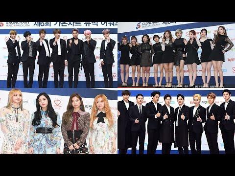 [풀영상] 2017 Gaon Chart KPOP Awards Red Carpet (EXO, GFRIEND, BTS, MAMAMOO, BLACKPINK)