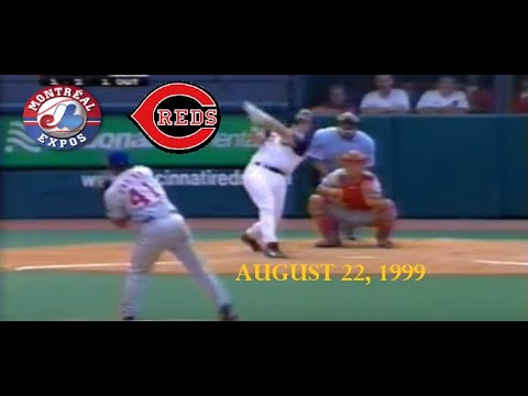 1999 08 22 - Montreal Expos v Cincinnati Reds (Begins Top 8th, 2 Out)