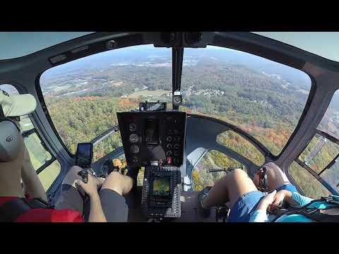 A flight out to Sharkey's Helicopters in NH
