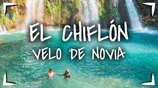 El CHIFLON cascadas de Chiapas ► Cascada VELO DE NOVIA 🔴 2 senderos diferentes 1 tour AZUL TURQUESA