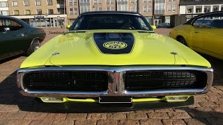 1971 Dodge Super Bee 440 Six Pack - V8 and exhaust sound!