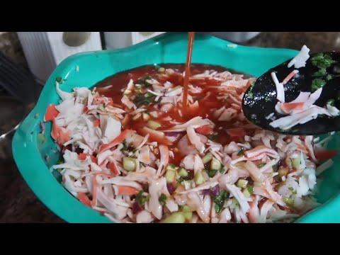 Making Ceviche! | The Aguilars