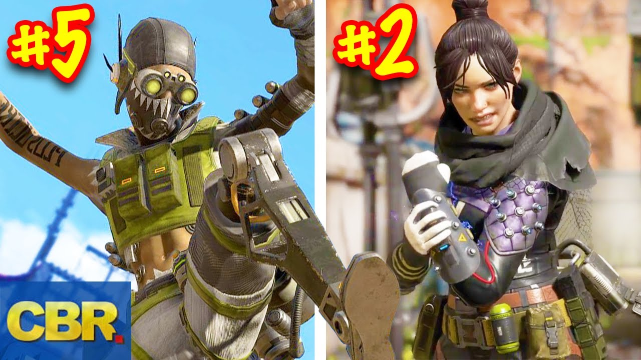 Ranking Every Legend In Apex Legends From Worst To Best