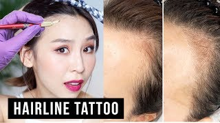 Hairline Microblading Tattoo!