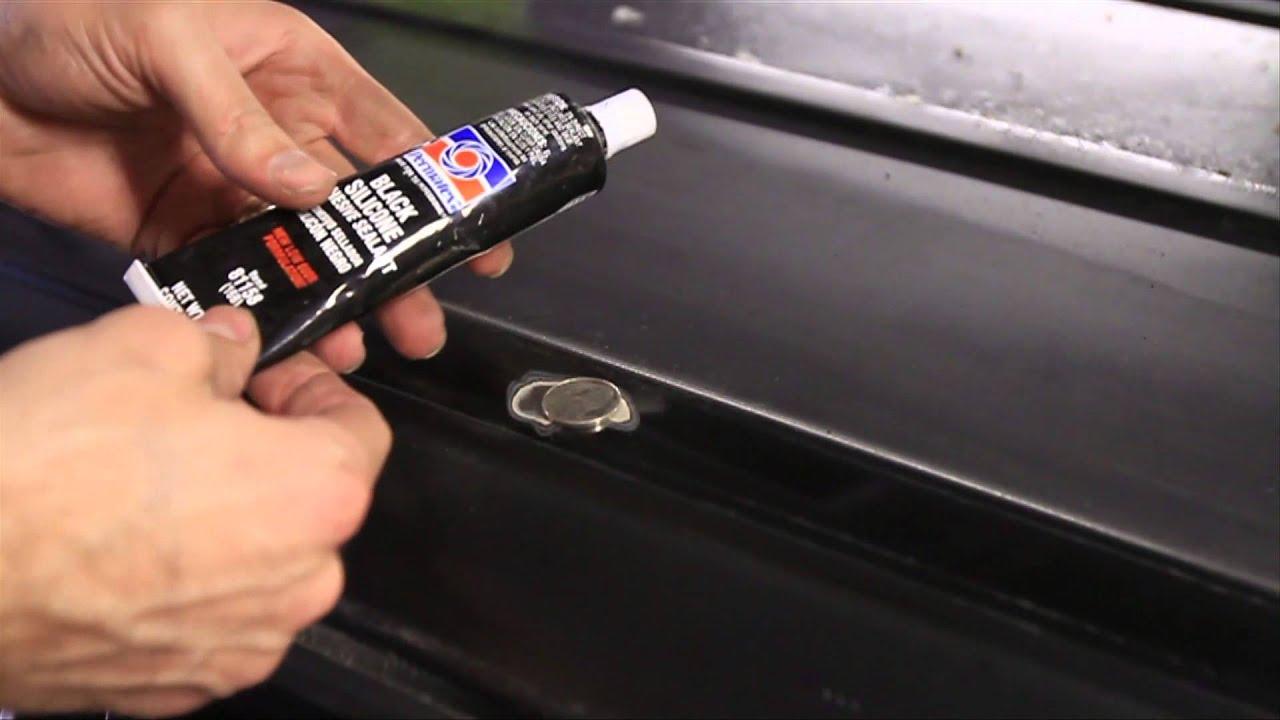 Jeep Cherokee Roof Rack Hole Fix Youtube