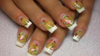 Уроки наращивания ногтей гелем для начинающихконтакты contacts