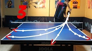 Best Table Tennis Serves Tutorial. (Pt 3: fastest, backhand, pendulum) --- TOMORROW TABLE TENNIS