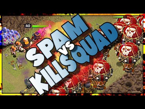 Killsquad Attacks vs Spam | Which Works BEST in Clash of Clans