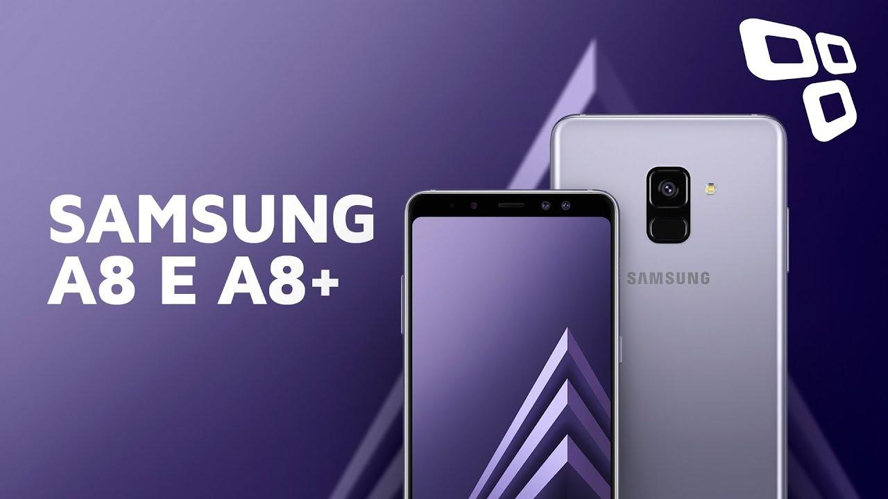 a9dbd6dad28df Samsung Galaxy A8 E A8+ - Hands On - TecMundo - YouTube
