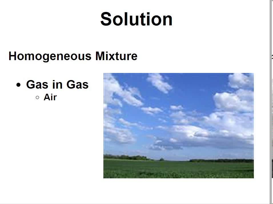 Introduction To SOLUTIONS SOLUTE SOLVENT Clear Simple