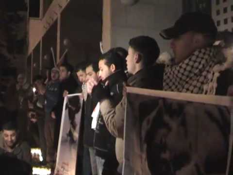 New year's eve Bethelehem - A call for the peace in Gaza