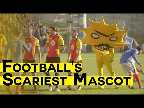 Football's Scariest Mascot | Meeting Kingsley