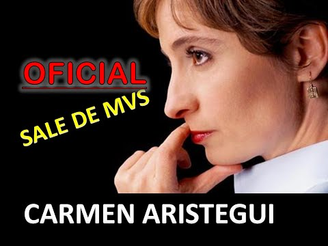 SALE CARMEN ARISTEGUI DE RADIO!!