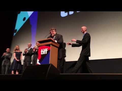 Guillermo del Toro speaks before The Shape of Water | #TIFF17