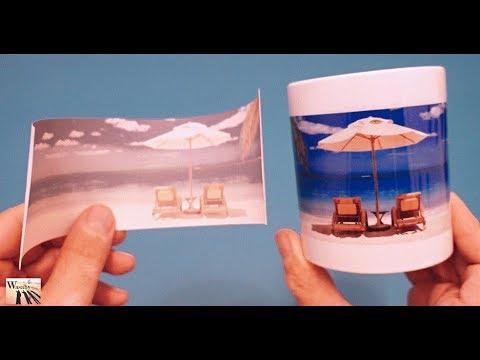 Bombastic Life Hack How to Print any Photo on Mug or Cup. DIY at home Life Hacks