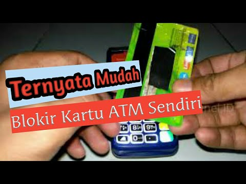 Cara Memblokir Kartu ATM BRI Sendiri Cepat & Mudah Tanpa Kebank Atau Via Call Customer Service BRI