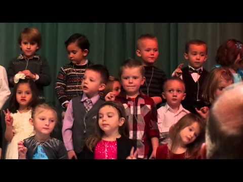 Preschool preformance Snowman song