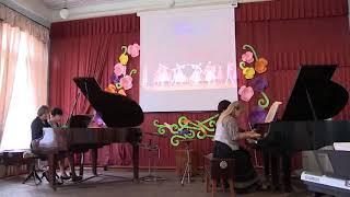 Открытый урок-Концерт Бизюковой Л.Э.(фортепиано)1 часть