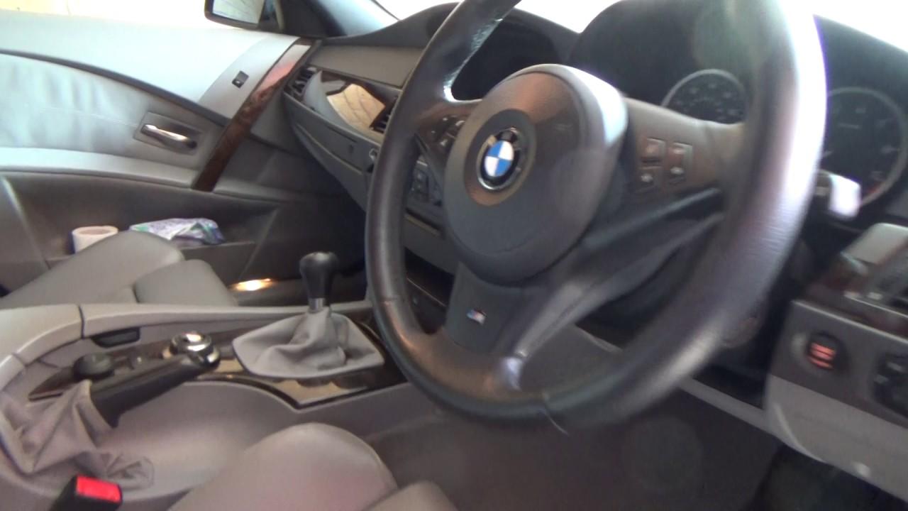 BMW E60 530i MSport Diagnostics Eccentric Shaft Sensor Fault