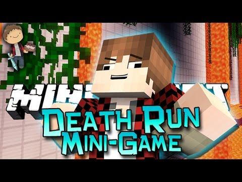 Minecraft: Death Run Mini-Game w/Mitch & Friends! (Vanilla Resource Pack Mini-Game!)
