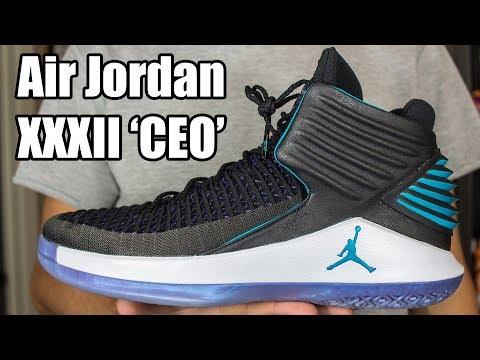 Air Jordan XXXII (32) CEO / Boardroom W/ On Foot