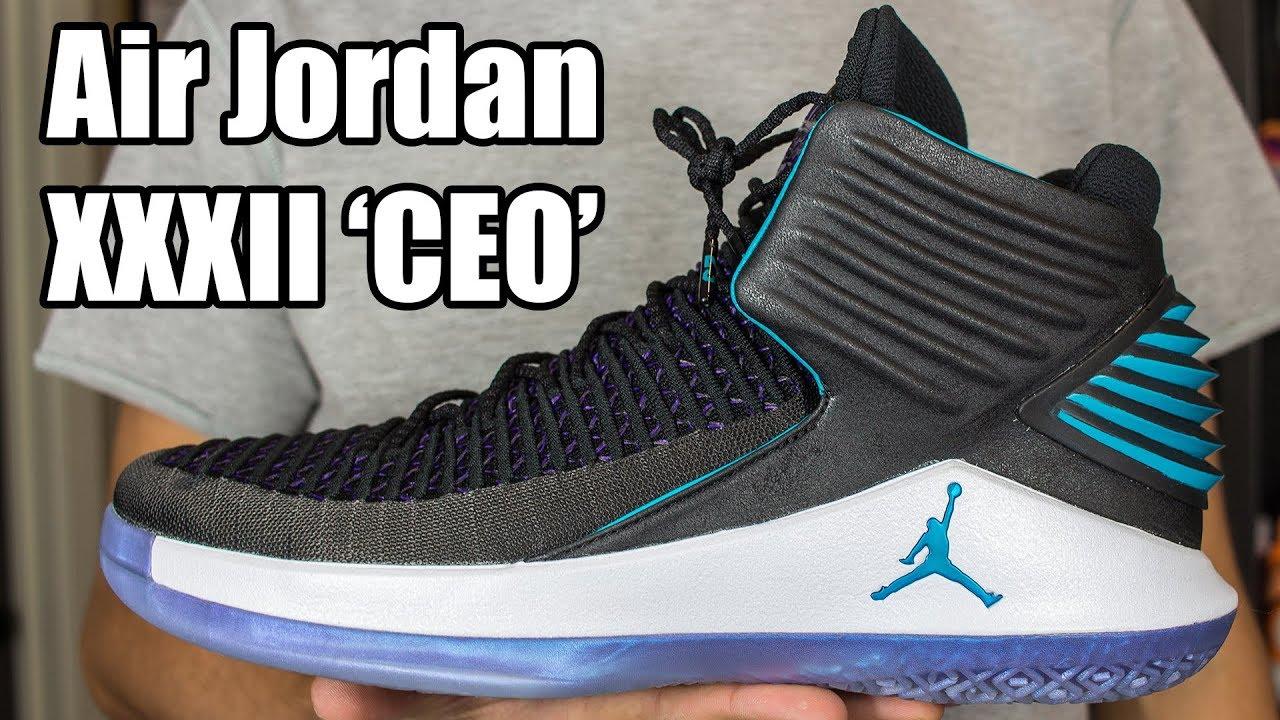 200b767c8db7cb Air Jordan XXXII (32) CEO   Boardroom W  On Foot - YouTube