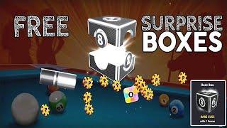 Rewards Link 8Ball Pool Gifts BOX RARE+ SCRATCHES+COINS // روابط هدايا اليوم في لعبة 8 بال بول