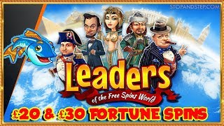 Leaders of the Free Spins World  ** Fishin' Frenzy **
