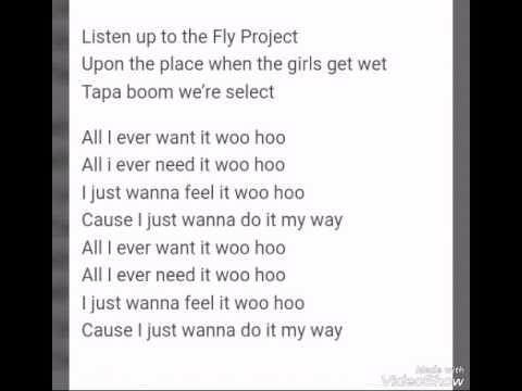 Fly Project - Get Wet | Lyrics video