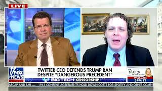 Guest on Cavuto Live on Fox News Channel to Discuss Trump and Twitter
