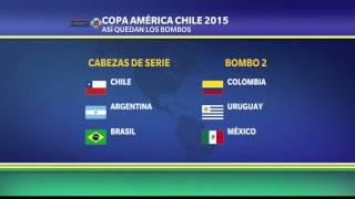 Así los bombos de la Copa América 2015