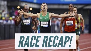 2012 Olympic Trials Men's 800 Meters Race Recap