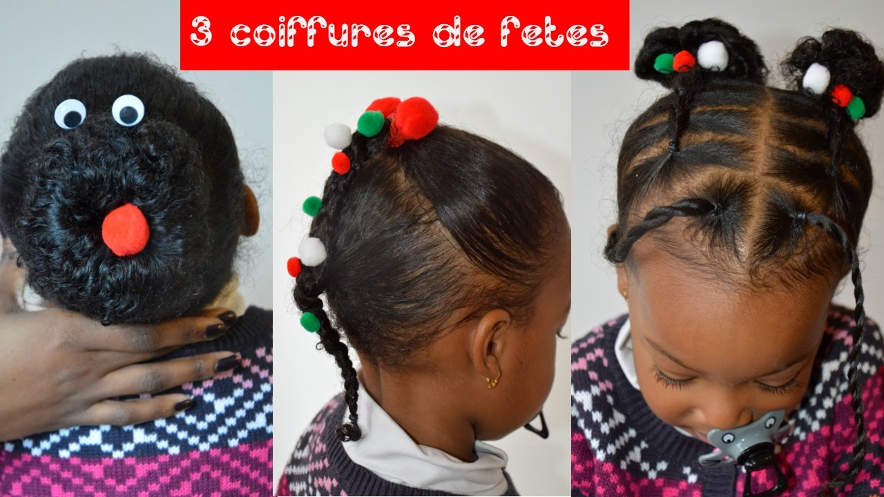 coiffure enfant pour les f tes youtube. Black Bedroom Furniture Sets. Home Design Ideas