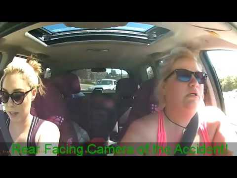 Bad Drivers of Buffalo, NY #2: Rear Facing Camera of the Accident!