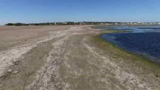 Drone plage serignan