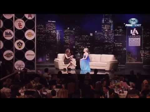 Gracie Gold Interview: 2014 L.A. Sports, Woman Of The Year