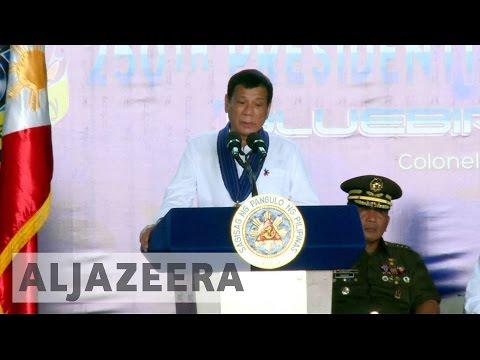 Philippine leader Rodrigo Duterte reassesses US ties