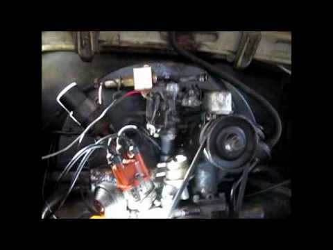 VW BUG fuel pump fixed 1964 Beetle