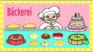 Gambar cover Deutsche Dialoge: in der Bäckerei / at the bakery - German for children and beginners