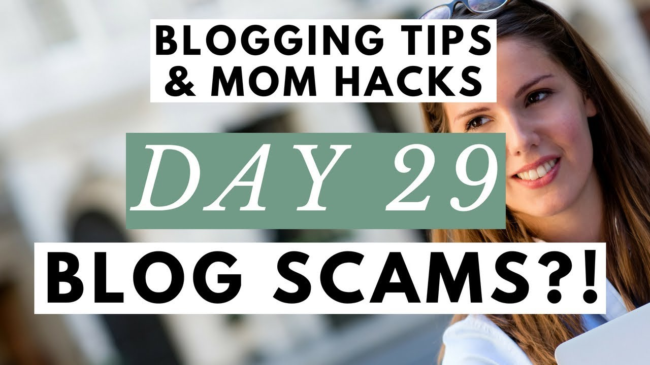 make money blogging scams