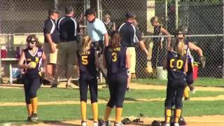 robbinsville 12u softball wins 2016 state title