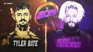 WWE 205 LIVE UK VERSION 2017 REMAKE MATCH CARD BY Jika