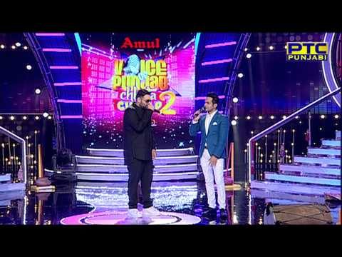 Badshah I Rapping for Contestants of Voice Of Punjab Chhota Champ 2