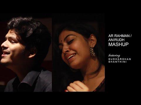 Snehidhane / Kannazhaga ( AR Rahman-Anirudh Mashup) | ft. Sudharshan Ashok, Shanthini Sathiyanathan