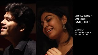 Download Snehidhane / Kannazhaga ( AR Rahman-Anirudh Mashup) | ft. Sudharshan Ashok, Shanthini Sathiyanathan MP3 song and Music Video