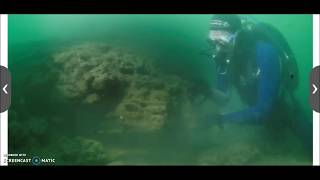 8,000 Y. O. Underwater Boat Building Site Discovered ~ Isle Of Wight